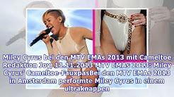 Miley Cyrus bei den MTV EMAs 2013 mit Cameltoe