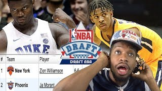 JA MORANT RANKED #1 OVER ZION WILLIAMSON NOW!?