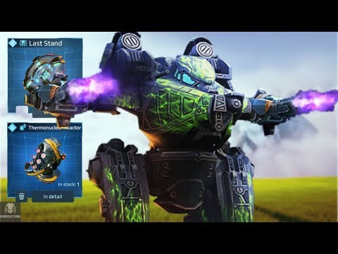 MAX Rogatka With Modules – Champion League Executioner | War Robots