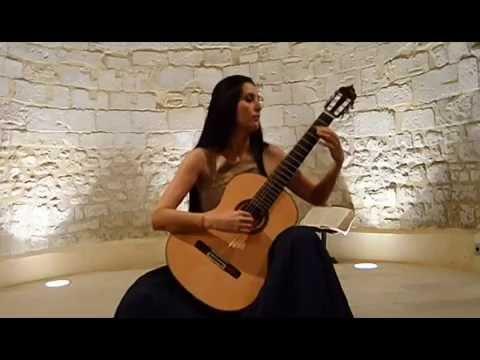 Isabel Martínez - III Festival Guitare in Cévennes, France (Jun, 2016)