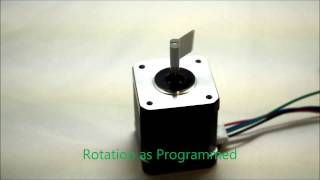 L298N Driving Stepper Motor, Controlled By Arduino Uno