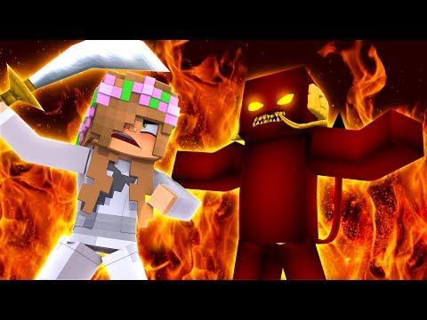 LITTLE KELLY BECOMES SAMURAI TO SAVE SAMURAI JACK| Minecraft Hello Neighbour