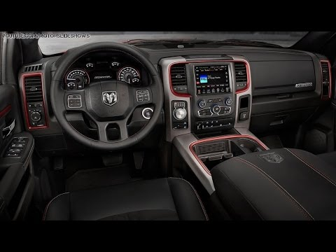 2018 Dodge Rebel >> 2015 Ram 1500 Rebel Interior Shots - YouTube