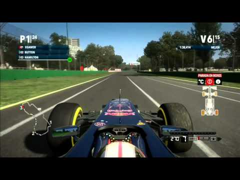 F1 2012-Carrera  Australia (Melbourne)-Toro Rosso