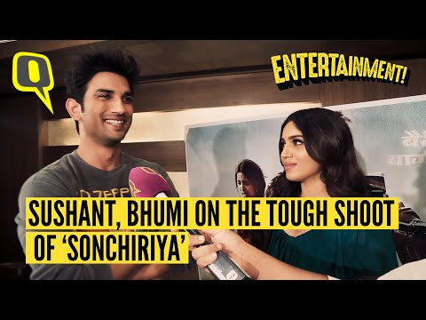 Sushant Singh Rajput and Bhumi Pednekar on the difficulties of shooting 'Sonchiriya' and more. Mp3