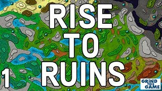 RISE TO RUINS #1 Gameplay and First Impressions - Building My First Village