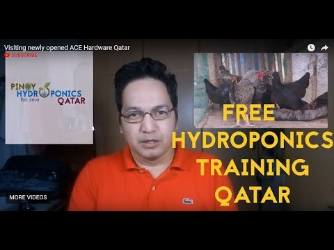 17th Hydroponics Training in Qatar