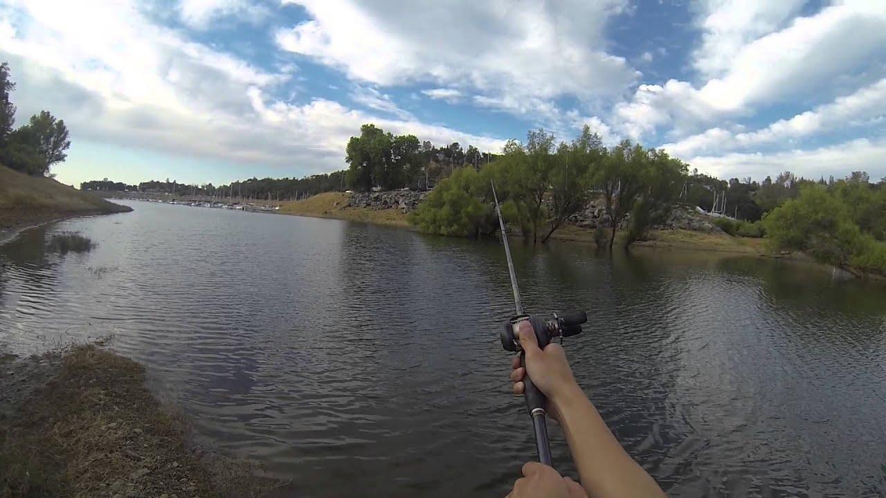 Folsom Lake Bass Fishing Youtube