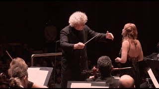 Sir Simon Rattle Conducts Australian World Orchestra with Magdalena Kožená, Canteloube: Baïlèro