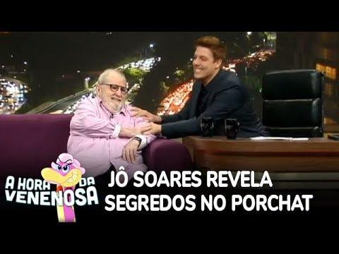 Jô Soares abre o coração e revela segredos em entrevista à Porchat