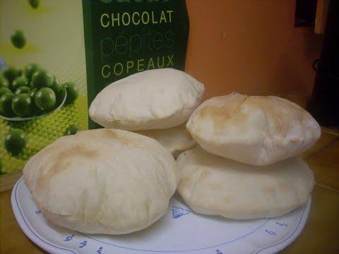 Comment faire des pains pita - Recette de pain libanaise