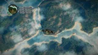 Just Cause 2 3559 M BASE Jump. Record!