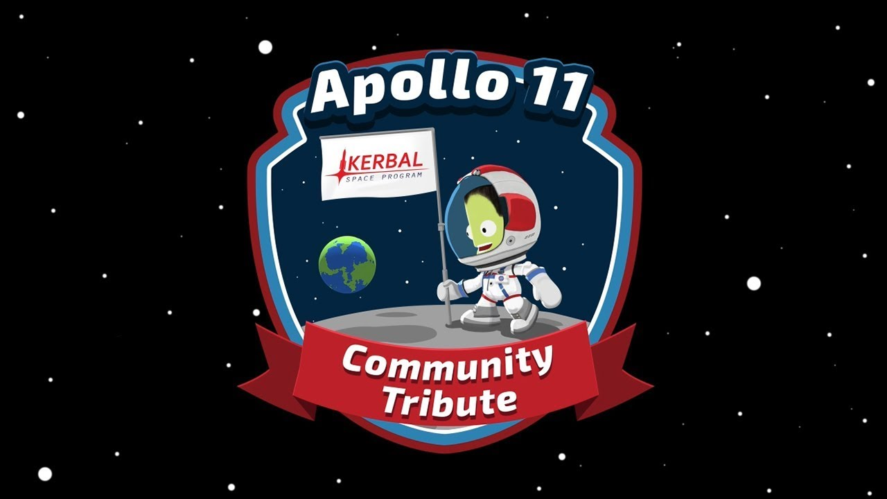 Celebrate Apollo 11 with Kerbal Space Program