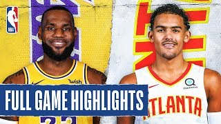 LAKERS at HAWKS | FULL GAME HIGHLIGHTS | December 15, 2019