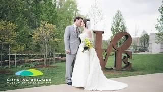 Weddings at Crystal Bridges