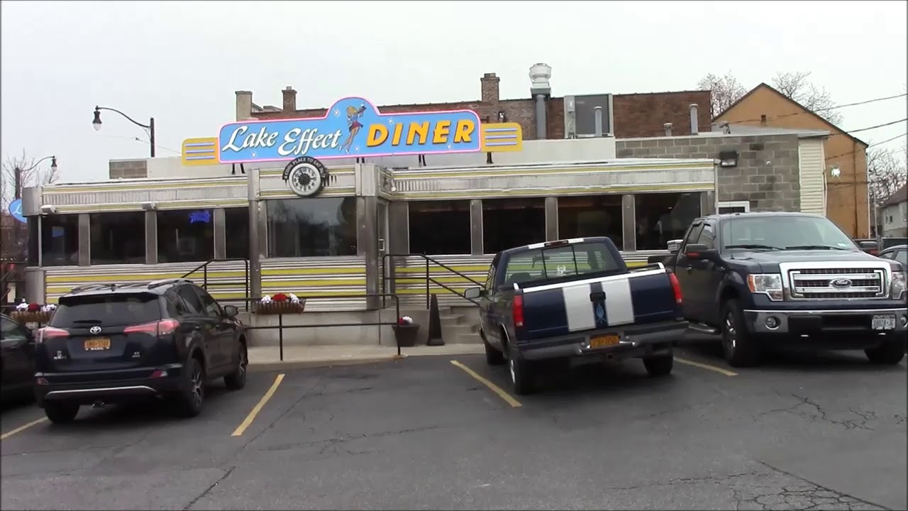 A Visit to the Lake Effect Diner Buffalo, NY - YouTube on