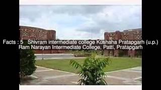 List of educational institutions in Pratapgarh, Uttar Pradesh Top  #11 Facts