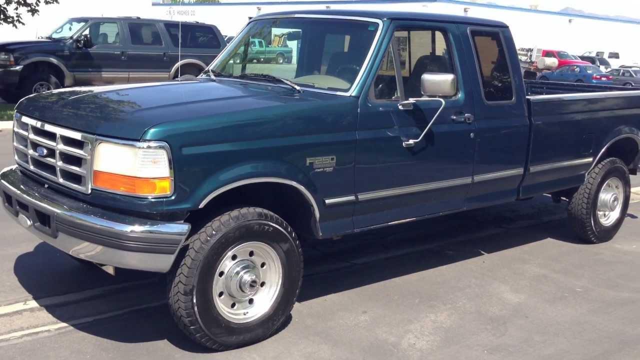 www diesel deals com 1997 ford f250 supercab xlt 4x4 178k 7 3 powerstroke turbo diesel for sale. Black Bedroom Furniture Sets. Home Design Ideas