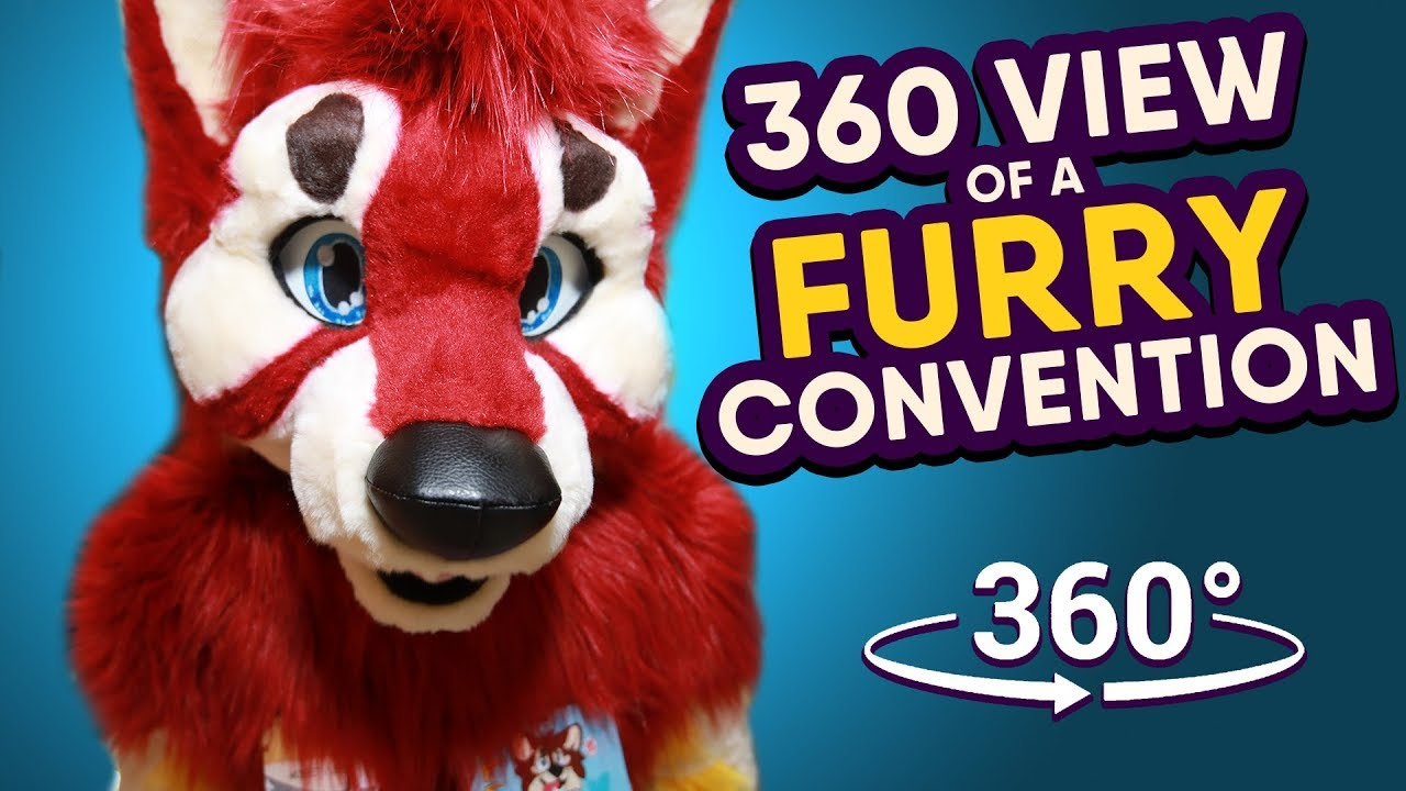 360 View Of A Furry Convention Feat Betaetadelota Furnal