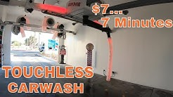 $7/7 Minute TOUCHLESS Car Wash. Is it any GOOD?? Review