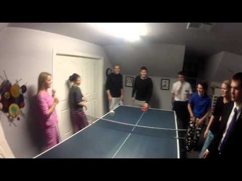 Madsen Ping Pong with the Go-Pro
