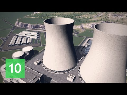 Cities Skylines: Wayside Valley - Ep.10: Nuclear Power Plant