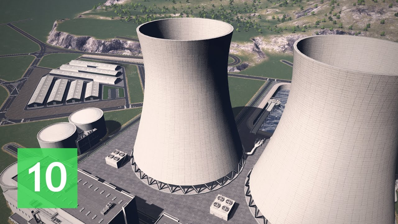 Download Cities Skylines: Wayside Valley - Ep.10: Nuclear Power Plant
