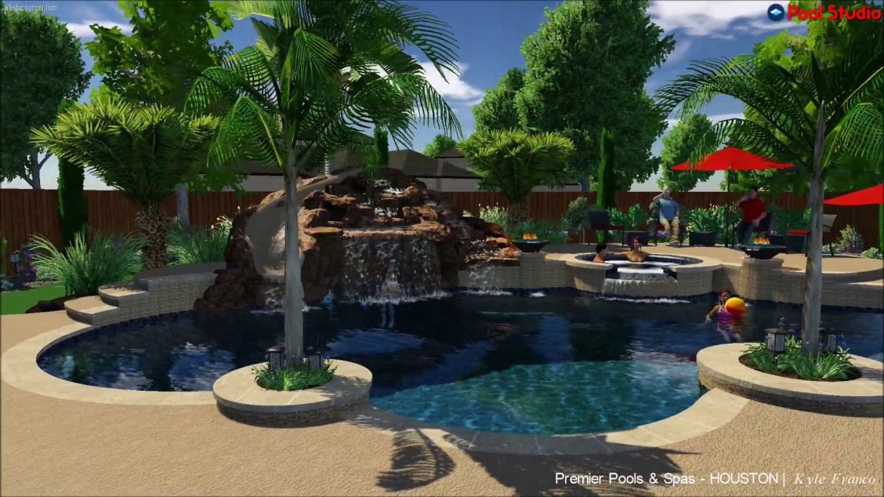 Premier Pools Spas Houston Designer Kyle Franco