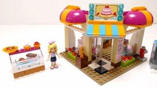 Lego Friends Heartlake Bakery - Brick Set 41006 Video