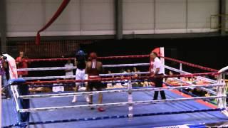 Aziz Zbite vs Adrian Boxeo Olímpico 2º Asalto