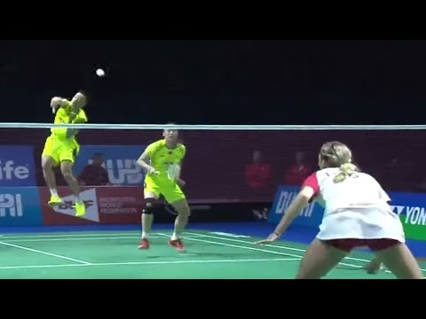Z.Nan/Z.Yunlei v C.Adcock/G.Adcock |XD| Day 4 Match 2 - BWF Destination Dubai 2014