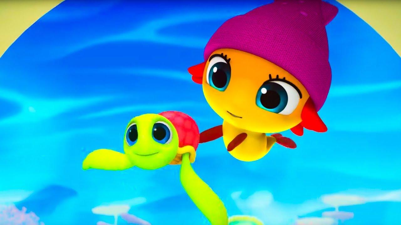 Морики Дорики: Дом, милый дом, Экскурсия 🐬 Музыкальный Мультфильм 🐠от Kedoo Мультики для Детей