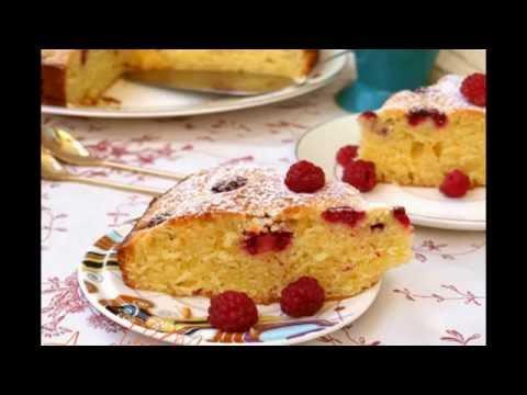 Как приготовить пирог с малиной на сметане
