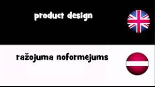 Vocabulary In 20 Languages = Product Design