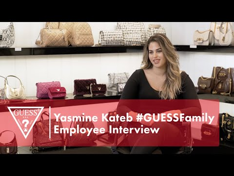 Yasmine Kateb #GUESSFamily Employee Interview<br><...