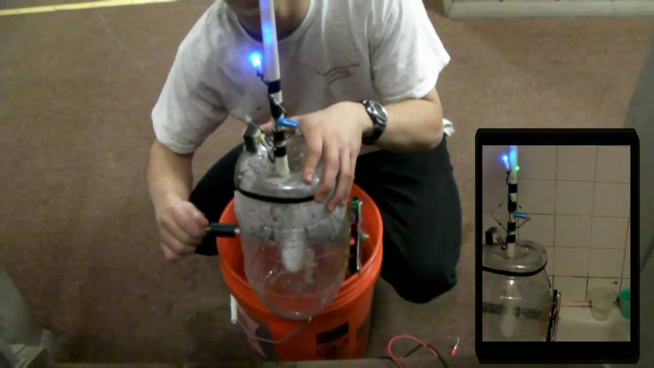 Homemade Hydroelectric Generator Youtube