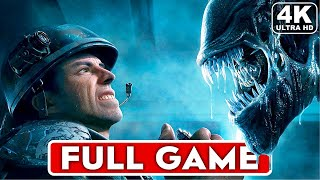ALIENS COLONIAL MARINES Gameplay Walkthrough Part 1 FULL GAME [4K 60FPS PC] - No Commentary