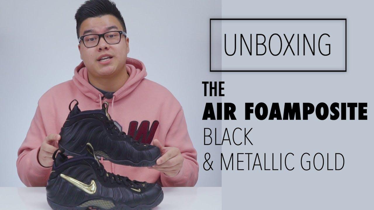 online retailer c378e c7eae Unboxing the Air Foamposite Pro
