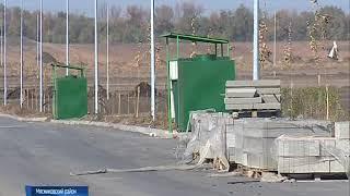 В Ростове завершили строительство нового городского кладбища