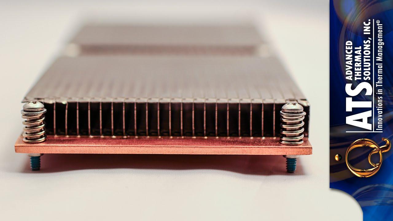 High Fin Density Heat Sink Manufacturing, Is Zipper Fin Best?