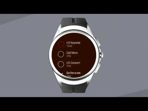 Google Android Wear 2.0 - Demonstration (Google IO)
