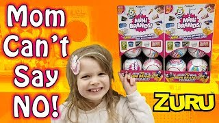 Mom Can't Say NO! Shopping for 5 SURPRISE MINI BRANDS at Walmart!