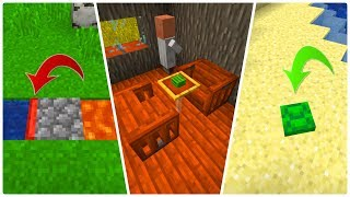 3 Genialne Lifehacki, Których NIE ZNAŁEŚ w Minecraft!