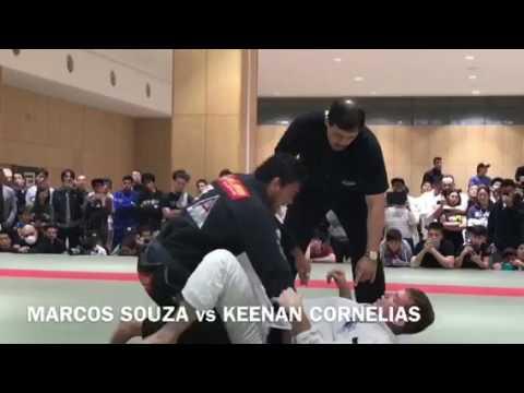 MARCOS SOUZA vs KEENAN CORNELIAS | Japanese National IBJJF Jiu-Jitsu Championship 2017