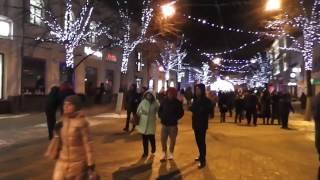 Прогулка по Новогоднему Ярославлю/Walking through the festive Yaroslavl