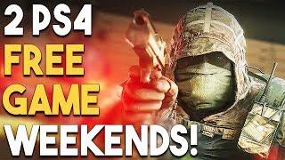 2 PLAYSTATION 4 FREE Game Weekends! HUGE No Man