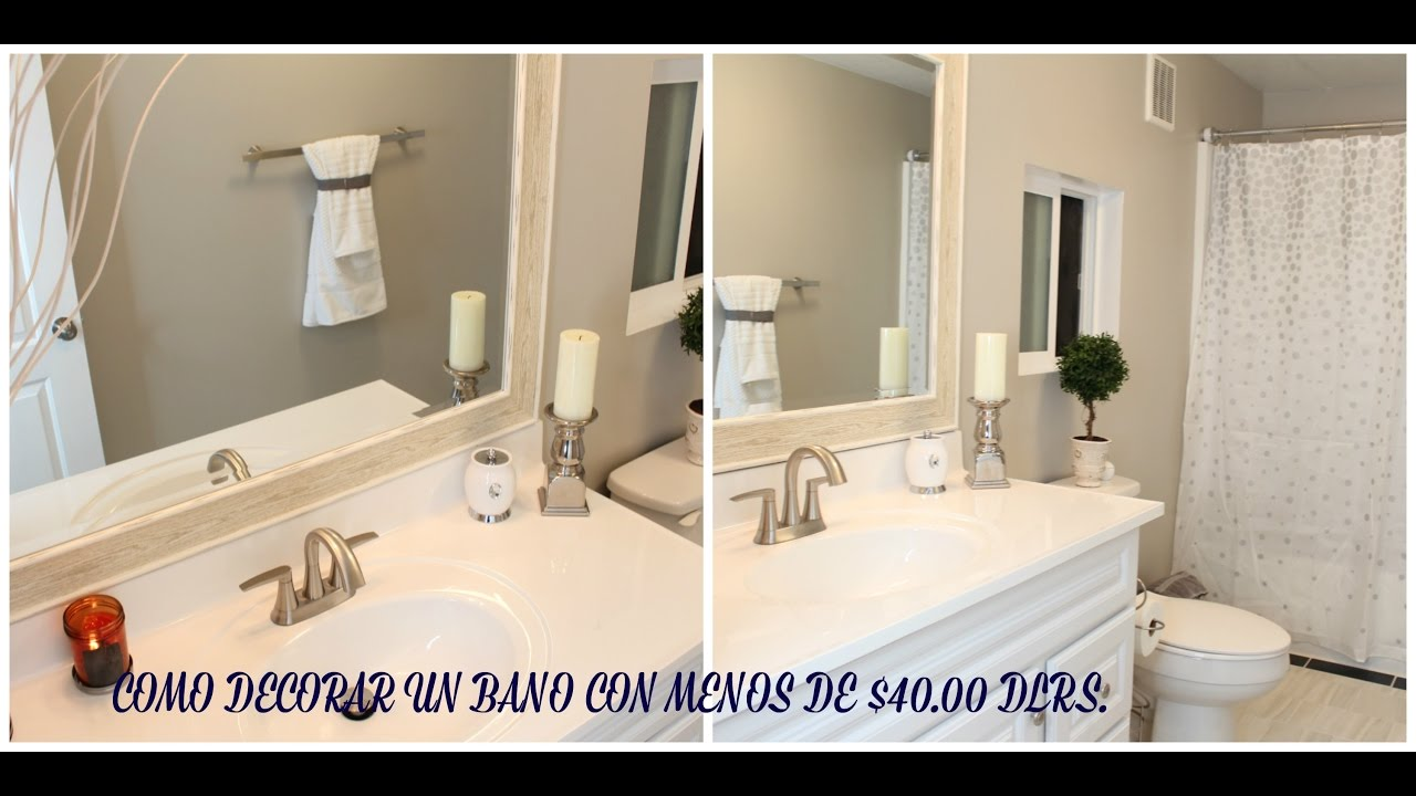 Ideas para decorar un ba o con poco dinero silvia en tu for Ideas para decorar banos