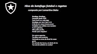 Hino do Botafogo com letra