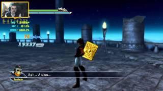 Saint Seiya Sanctuary Battle - PS3 - Parte 21 (El Patriarca FINAL - Historia Aioros) - por Hu0r