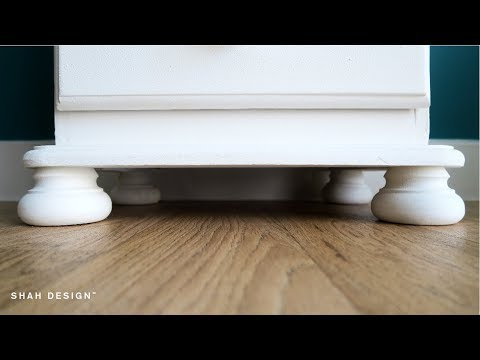 How To Upcycle Furniture Cheaply | Chest Of Drawers (Home DIY)